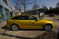 Satin Yellow Audi S6 print tech 7 190x126 Exclusiver AUDI S6 in Centurion Satin Gelb von Print Tech