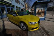 Satin Yellow Audi S6 print tech 8 190x126 Exclusiver AUDI S6 in Centurion Satin Gelb von Print Tech