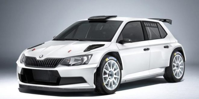 offiziell das ist der neue skoda fabia r5 rally car. Black Bedroom Furniture Sets. Home Design Ideas