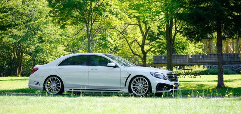Wald Mercedes S Class PS Tuning 1 Wald Internationale tunt die Mercedes S Klasse W222