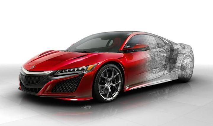 neue technische details zum honda acura nsx tuningblog. Black Bedroom Furniture Sets. Home Design Ideas