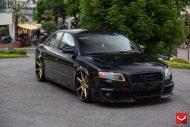 audi s4 vossen wheels tuning b8 2 190x127 Audi RS4 B7 mit Vossen Wheels und extremer Tieferlegung