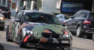 bmw m3 e93 cabriolet hamann 1 310x165 BMW E93 M3 in military style from tuner Hamann