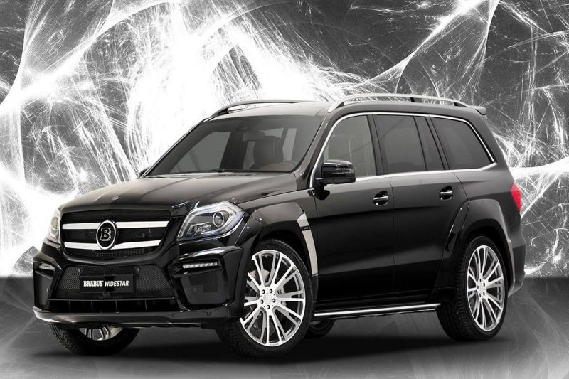 brabus b63 widestar mit 620 PS 1 Brabus B 63 620 Widestar in Form des Mercedes GL