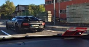 bugatti chiron spied in production ready form 1 310x165 Video: Erwischt   Prototyp des 2016er Bugatti Chiron (Veyron Nachfolger) auf dem Nürburgring