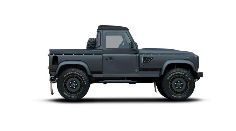 flying huntsman pickup kahn 1 Land Rover Defender Flying Huntsman Pickup von Kahn Design