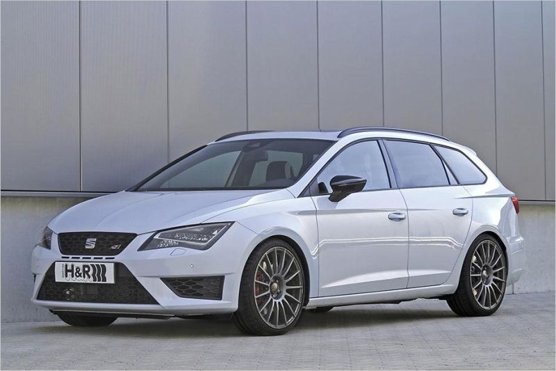 seat leon st cupra typ 5f mit h r sportfedern der tuning und styling blog. Black Bedroom Furniture Sets. Home Design Ideas