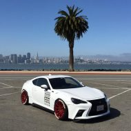 japanese kit turns toyota gt 86 into lexus 1 190x190 Toyota GT 86 mit Lexus Optik vom Tuner Aimgain
