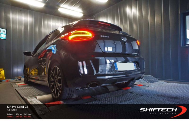 kia procee d gt tuned to almost 250 1 ShifTech tunt den Kia pro ceed GT auf knapp 250 PS