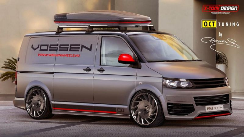 oct tuning vw t5 tuning 1 O.CT Tuning pimpt den Volkswagen VW T5 Bus