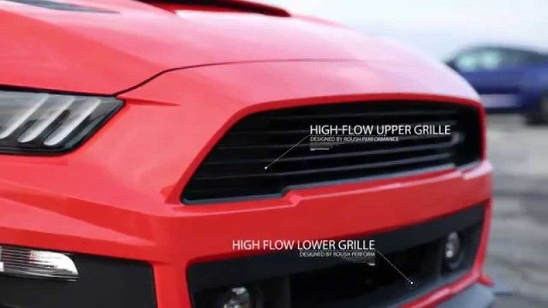 roush performance ford mustang m Roush Performance Ford Mustang mit über 650 PS