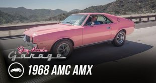 video 1968er playboy amc amx in 310x165 Video: 1968er Playboy AMC AMX in Rosa mit Jay Leno am Steuer!