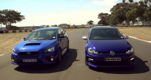 video drag race vw golf 7 r gege 310x165 Video: Drag Race   VW Golf 7 R gegen Subaru STI