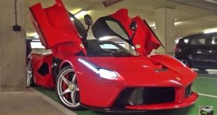 video ferrari laferrari brutal s 310x165 Video: Ferrari LaFerrari BRUTAL Sound Check in der Tiefgarage