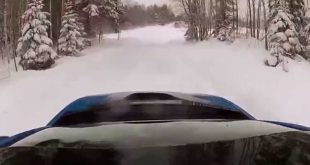 video hard use in the deep 310x165 Video: Hard use in deep snow! BMW I8 in Finland
