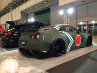 widebody nissan gt r japan army 2 190x143 Liberty Walk Breitbau am Nissan GT R im Japan Navy Look