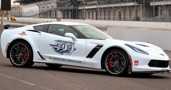 130425 corvettepacecar 1 Chevrolet Corvette Z06 Indy 500 Pace Car