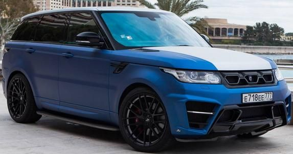 131378 larte new pics 1 Range Rover Sport Winner Edition von Larte Design mit 400PS Diesel Power