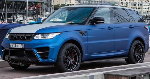 131378 larte new pics 2 Range Rover Sport Winner Edition von Larte Design mit 400PS Diesel Power
