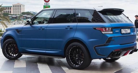 131378 larte new pics 3 Range Rover Sport Winner Edition von Larte Design mit 400PS Diesel Power