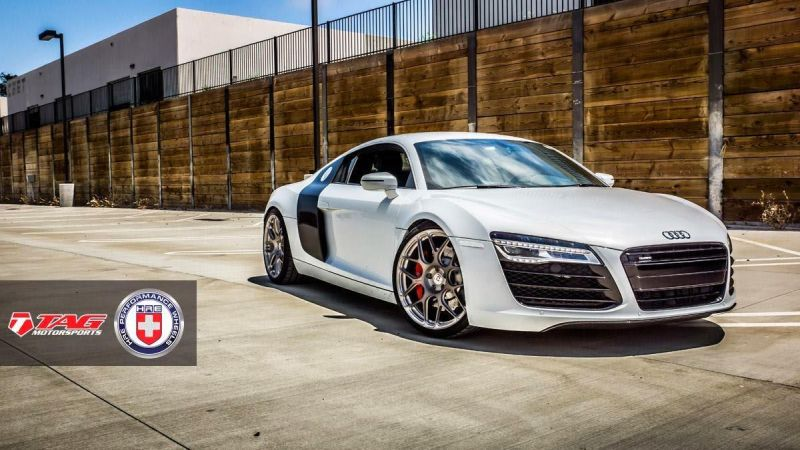 2014 audi r8 by hre performance wheels supercars 1 HRE Wheels P40SC auf dem Audi R8 V8 von TAG Motorsports