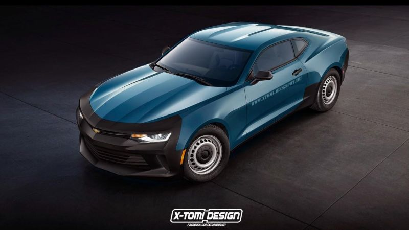 2016 chevrolet camaro imagined with base 1 Chevrolet Camaro Basis Modell von X Tomi Design