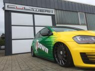 7 down is a golf gti lowrider with 4 190x143 VW Golf GTI 7 vom Tuner Camshaft & PP Performance