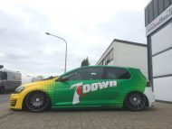 7 down is a golf gti lowrider with 5 190x143 VW Golf GTI 7 vom Tuner Camshaft & PP Performance
