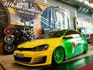 7 down is a golf gti lowrider with 7 190x143 VW Golf GTI 7 vom Tuner Camshaft & PP Performance
