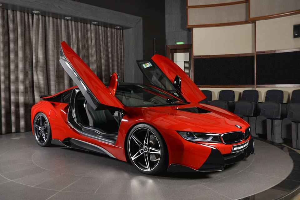 Tuning Am Schnitzer Bmw I8 Coupe Protonic Red Edition 1