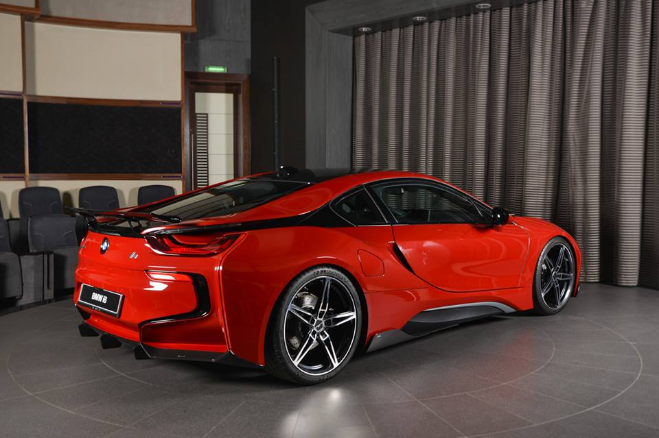 Tuning Am Schnitzer Bmw I8 Coupe Protonic Red Edition 19