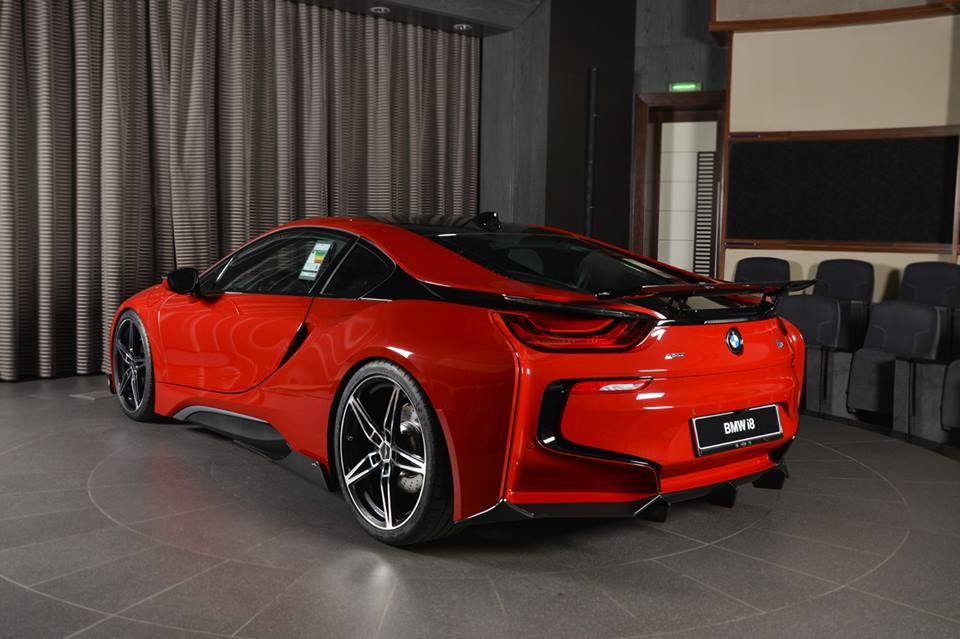 Tuning Am Schnitzer Bmw I8 Coupe Protonic Red Edition 20