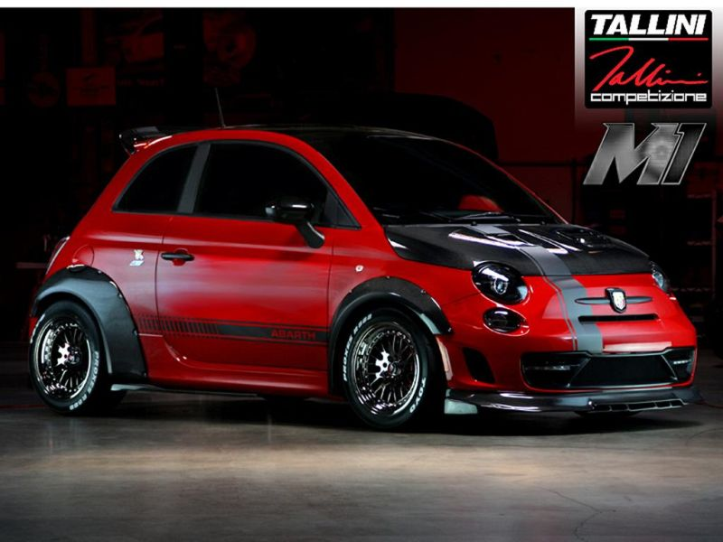 Abarth 500 by Road Race Motorsports tuning 1 Extremer Road Race Motorsports Abarth Fiat 500