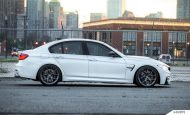 Alpine White BMW F80 M3 On MORR Wheels 3 190x115 BMW F80 M3 in Alpine Weiß mit MORR Wheels Alufelgen