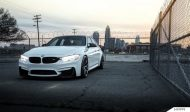 Alpine White BMW F80 M3 On MORR Wheels 4 190x112 BMW F80 M3 in Alpine Weiß mit MORR Wheels Alufelgen