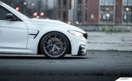 Alpine White BMW F80 M3 On MORR Wheels 5 190x117 BMW F80 M3 in Alpine Weiß mit MORR Wheels Alufelgen