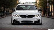 Alpine White BMW F80 M3 On MORR Wheels 7 190x108 BMW F80 M3 in Alpine Weiß mit MORR Wheels Alufelgen