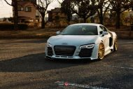 Audi R8 On VPS 304 By Vossen Wheels tuning 2 190x127 Audi R8 V10 mit Vossen Wheels VPS 304 Alufelgen