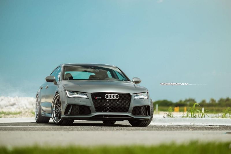 Audi RS7 On ADV5.0 Track Spec CS By ADV.1 Wheels 1 21 Zoll ADV.1 ADV5.0 Wheels auf dem Audi RS7