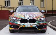 BMW Art Car 1er Facelift 2015 3 190x120 BMW 1er Facelift Modell   das inoffizielle Art Car aus Russland