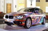 BMW Art Car 1er Facelift 2015 4 190x124 BMW 1er Facelift Modell   das inoffizielle Art Car aus Russland