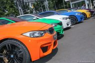 BMW M Owners Club Indonesia M4 F82 colors 1 190x127 12 x BMW M4 mit Individual Lackierung in Indonesien