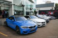 BMW M Owners Club Indonesia M4 F82 colors 4 190x127 12 x BMW M4 mit Individual Lackierung in Indonesien