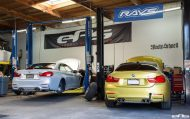 BMW M4 Gets Lowered At European Auto Source 1 190x119 Dezent & effektiv! BMW M4 F83 mit Sportfedern von H&R durch EAS Tuning