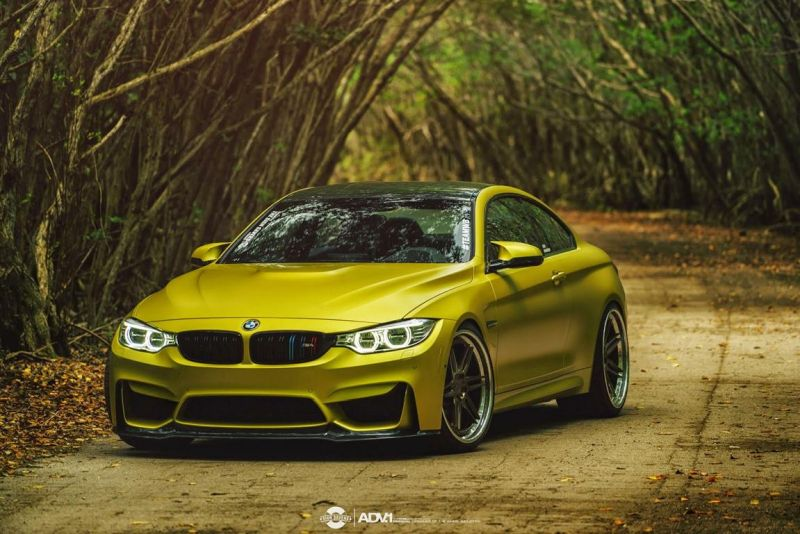 BMW M4 On ADV.1 Wheels By Tag Motorsports 1 TAG Motorsports BMW M4 F82 mit 21 Zoll ADV.1 Wheels