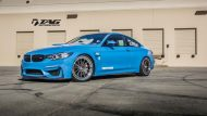 BMW M4 with HRE Classic 303 Wheels in Brushed Dark Clear 2 190x107 HRE Felgen auf dem TAG Motorsports BMW M4 F82