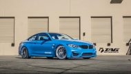 BMW M4 with HRE Classic 303 Wheels in Brushed Dark Clear 3 190x107 HRE Felgen auf dem TAG Motorsports BMW M4 F82