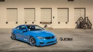BMW M4 with HRE Classic 303 Wheels in Brushed Dark Clear 6 190x107 HRE Felgen auf dem TAG Motorsports BMW M4 F82