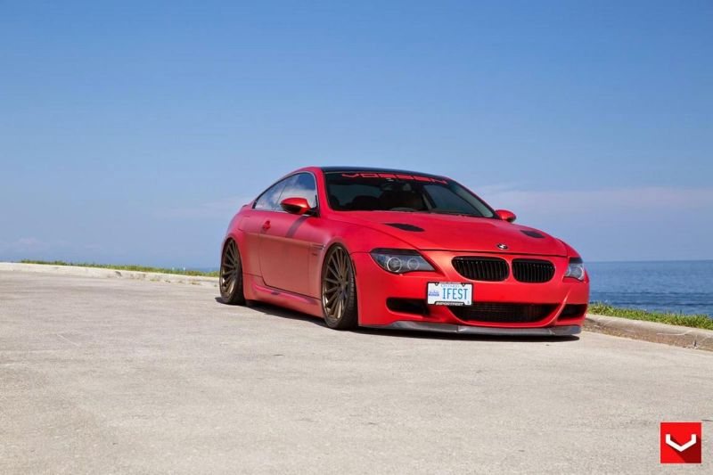BMW M6 On VFS2 By Vossen Wheels 1 VFS2 Vossen Wheels auf dem BMW E63 M6 V10