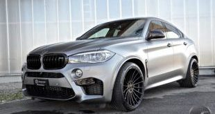 BMW X6M F86 from DS Automobile Matt Gray Frozen Gray Tuning 9 1 e1461135099106 310x165 23 inch Hamann alloy wheels on the BMW X6 M F86